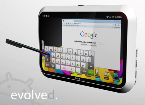 HTC Android tablet concept