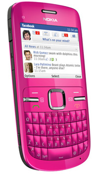 hte nokia c3 social phone hot pick