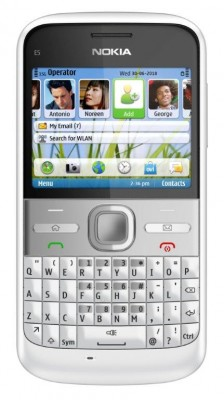 The Nokia E5 business phone