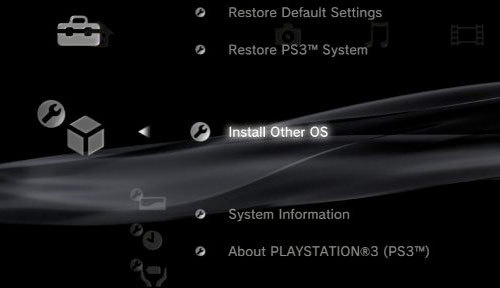 PS3 Install Other OS Firmware 3.21 Geohot