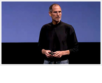 Steve Jobs Apple iPhone Software 4.0 Event