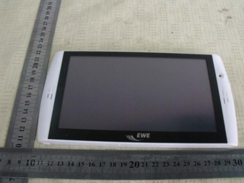 archos 7 home tablet android based FCC test model