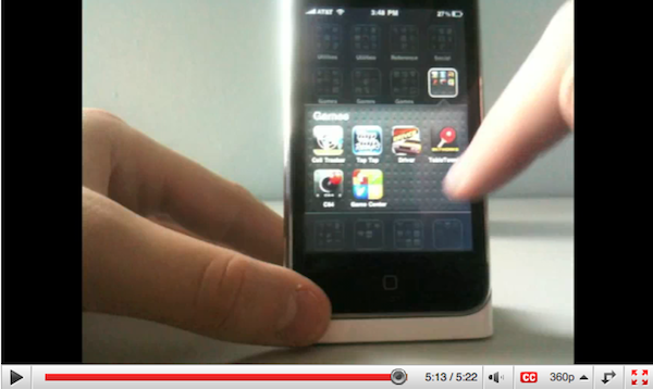 iPhone OS 4.0 Video Walkthrough