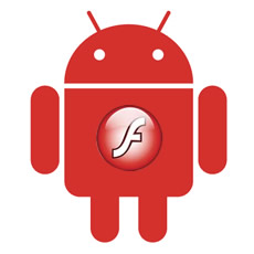 Android 2.2 and Flash 10.1 support image
