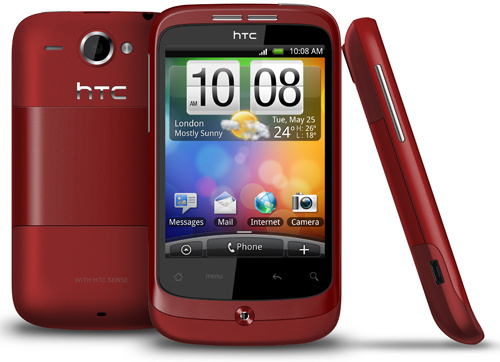 htc wildfire announcement