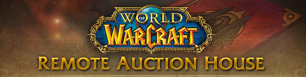 Blizzard Announces Beta for Remote World of WarCraft Auction House Service