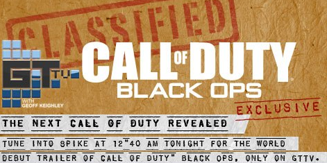 Call of Duty Black Ops Revealed