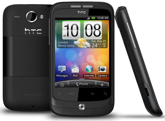 htc wildfire announcement grey color