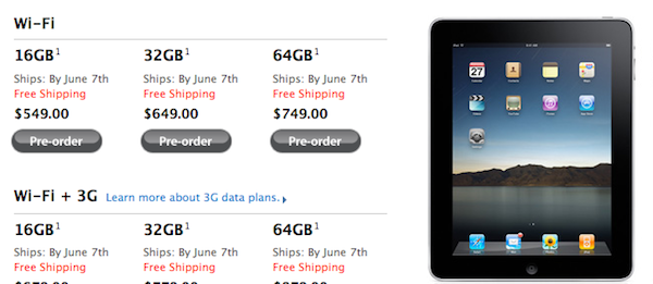 International iPad Pre-Orders Will Now Ship June 7