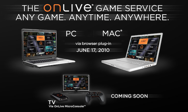 OnLive Gaming Service Gives Out Subscription Invitations- Offers One Year Free Service