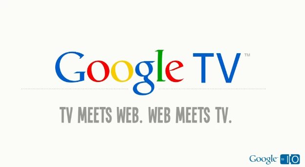 google TV slogan