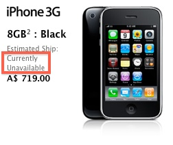 iPhone 3G Likely to be Discontinued, 3GS Gets Price Drop to $97