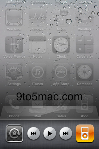 iPhone OS 4 to Include Widget Style Apps and Orientation Lock