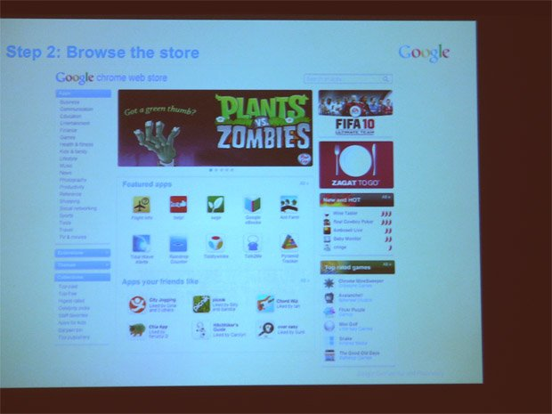 Developer Preview Of Google Chrome Web Store
