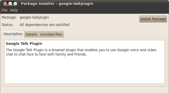 Gmail Plugin For Voice And Video Chat In LInux