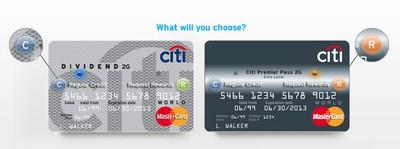 Citibank 2G Cards