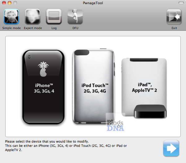PwnageTool  Jailbreak iOS 4.2.1 on iPad
