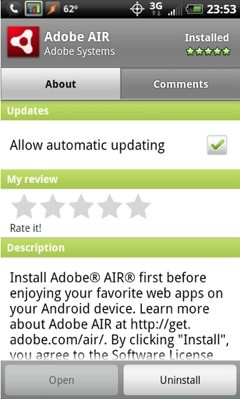 adobe-air android
