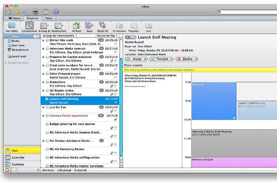 microsoft outlook for mac