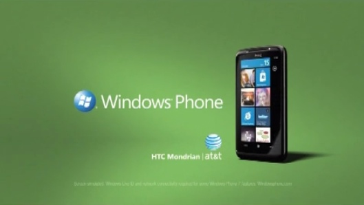 windows phone 7 AT&T