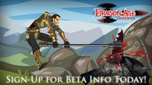 Dragon Age Legends Facebook App