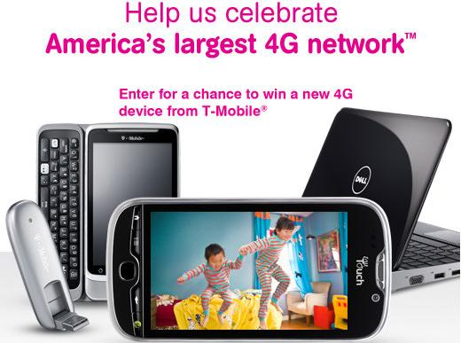 T-Mobile Facebook Sweep