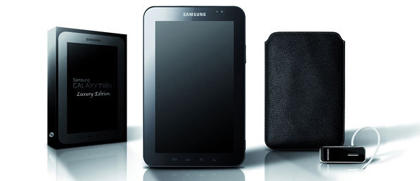 Samsung Galaxy Tab Luxury Edition