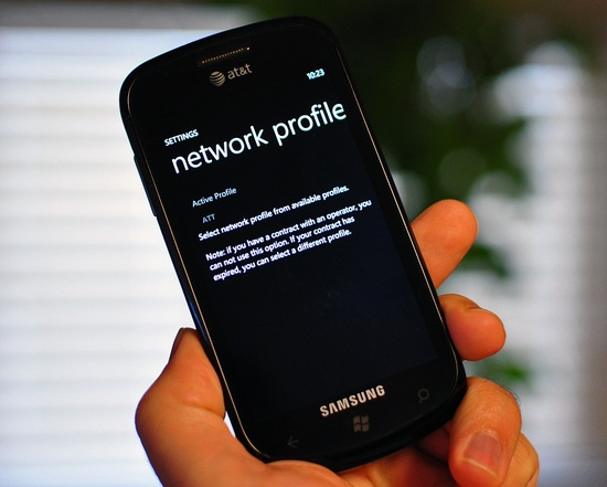 Windows Phone Network Profile Update