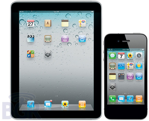 iPad &amp; iPhone Without home Button