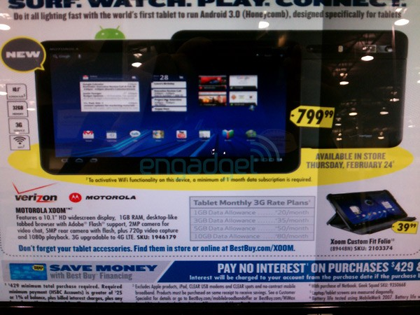 Motorola Xoom Best Buy