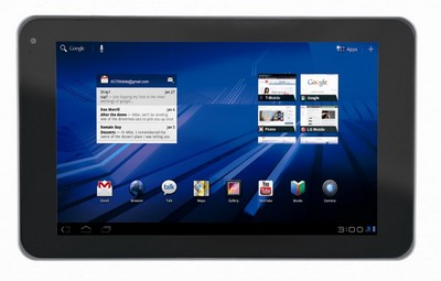 T-Mobile G-Slate with Google By LG