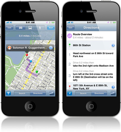 Turn by Turn Navigation iPhone Tweak