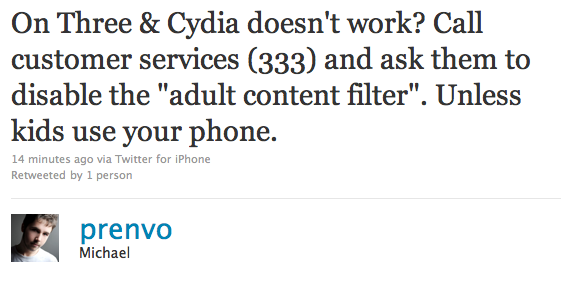 How to Unblock Cydia