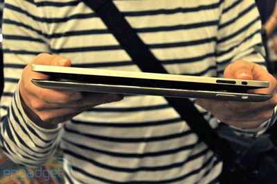iPad 2 Thinner Design Mockup