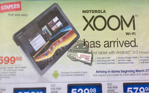 Motorola Xoom Wifi version