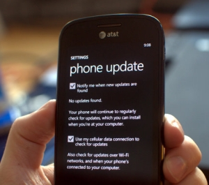 Windows Phone 7 Update