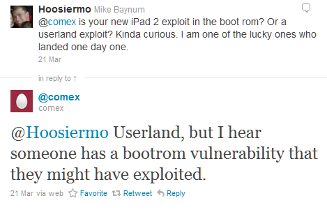 iPad 2 Bootrom Vulnerability