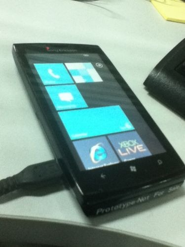 Sony Erricson- Windows Phone 7