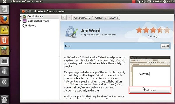ubuntu-software-center-testdrive
